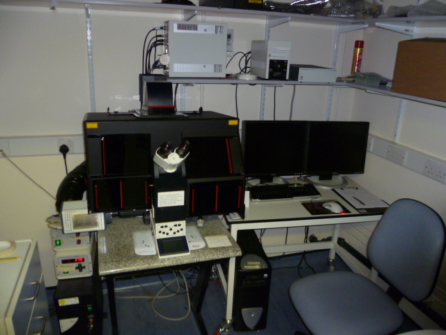 Leica Total Internal Reflection Fluorescence Microscope