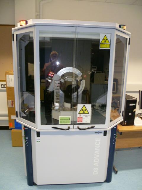 Bruker D8 Advance Diffractometer