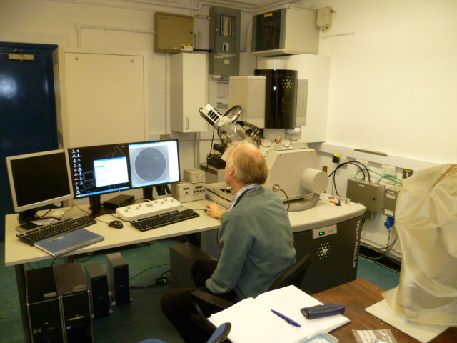 FEI Helios NanoLab 600; Dualbeam with three-axis micromanipulator, Oxford Inst X-Max50 EDX and force mea