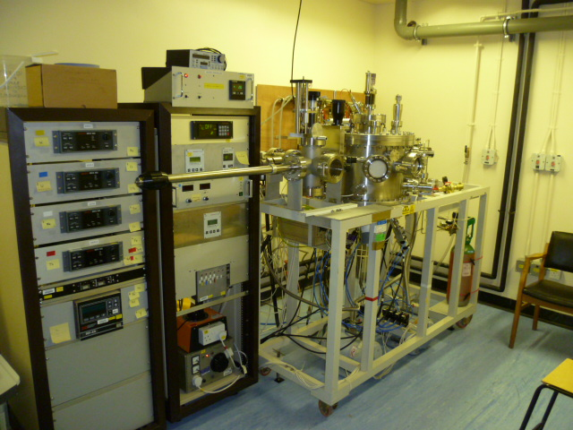 Various IAC/Oxford; DC magnetron sputter chamber