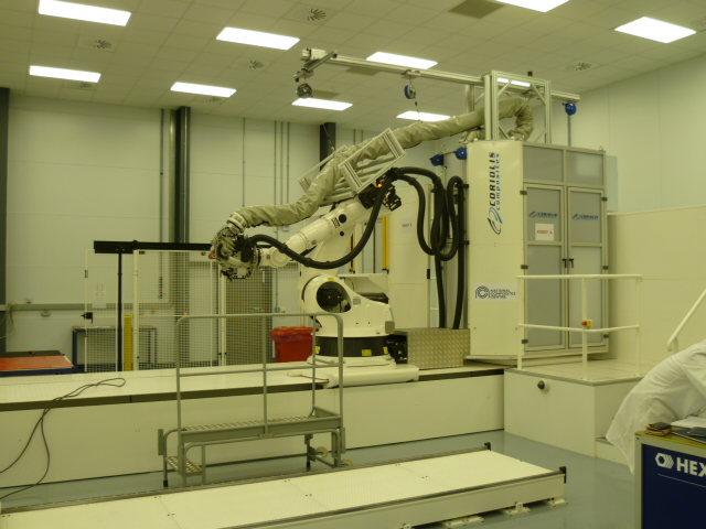 Coriolis twin head Automated Fibre Placement machine