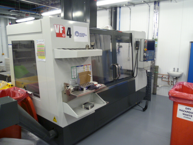 Haas 3 axis Mill