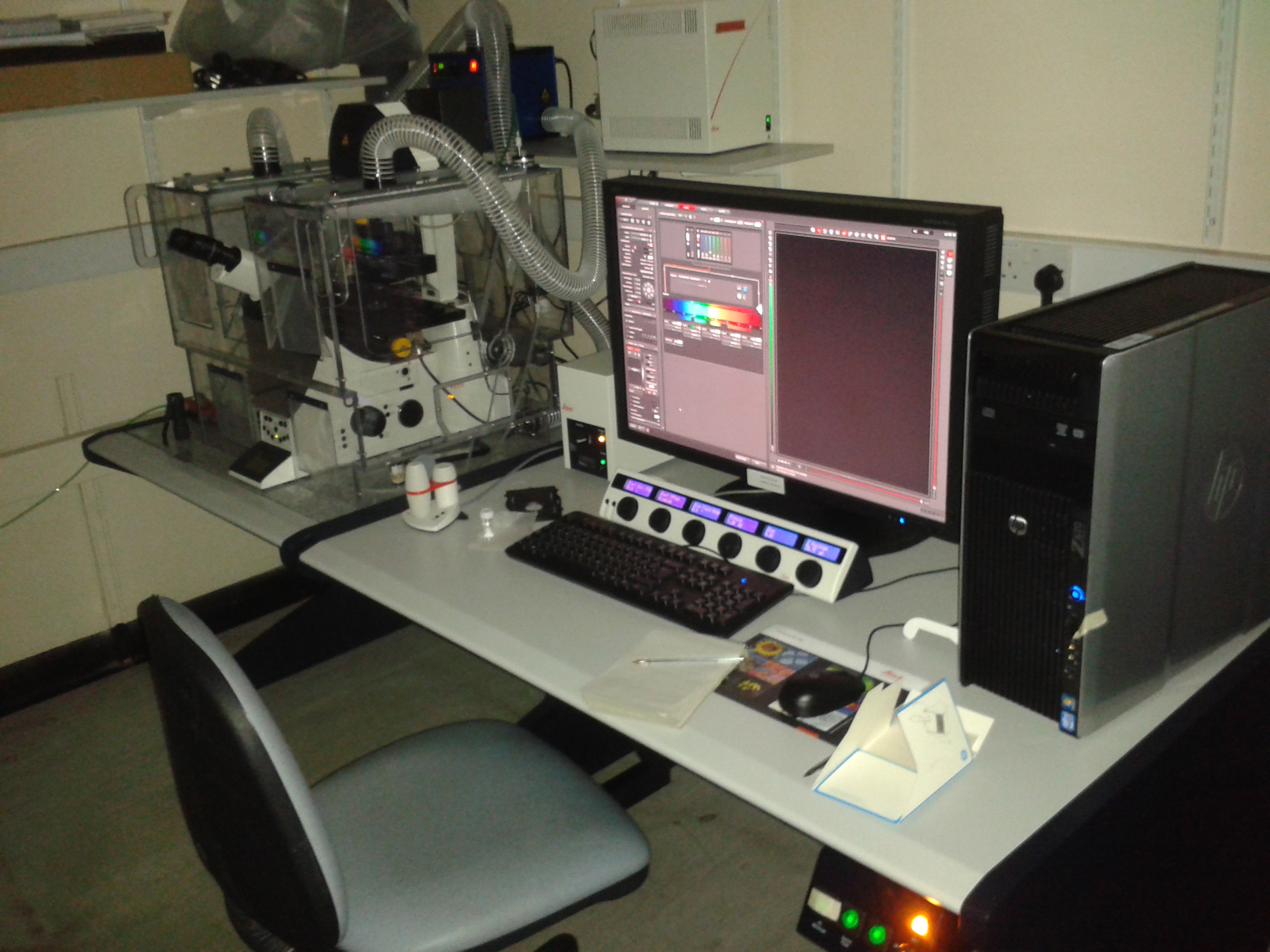 Leica SP8 Confocal Laser Scanning Microscope
