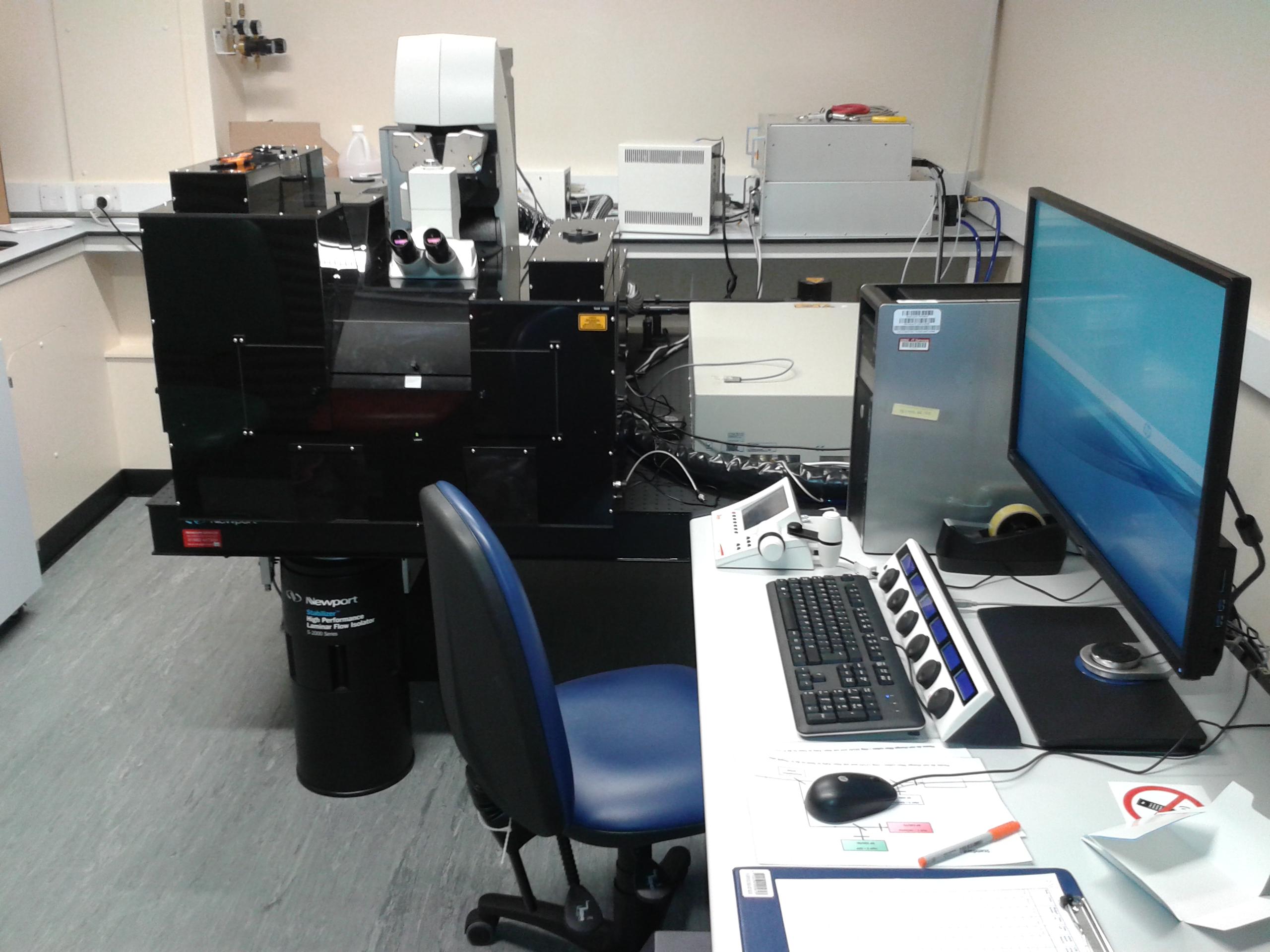 Leica Multiphoton Microscope
