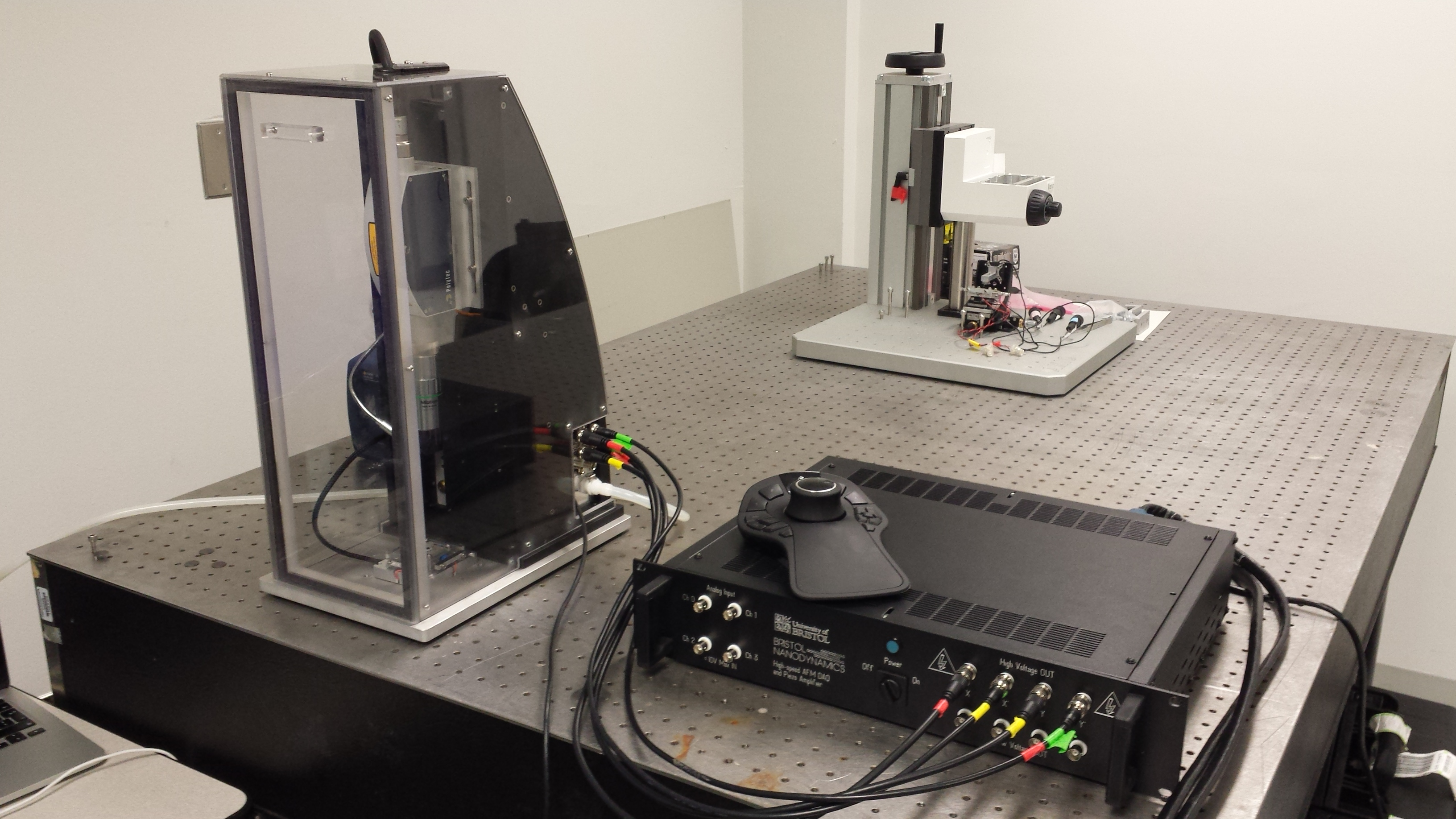 High-speed atomic force microscope